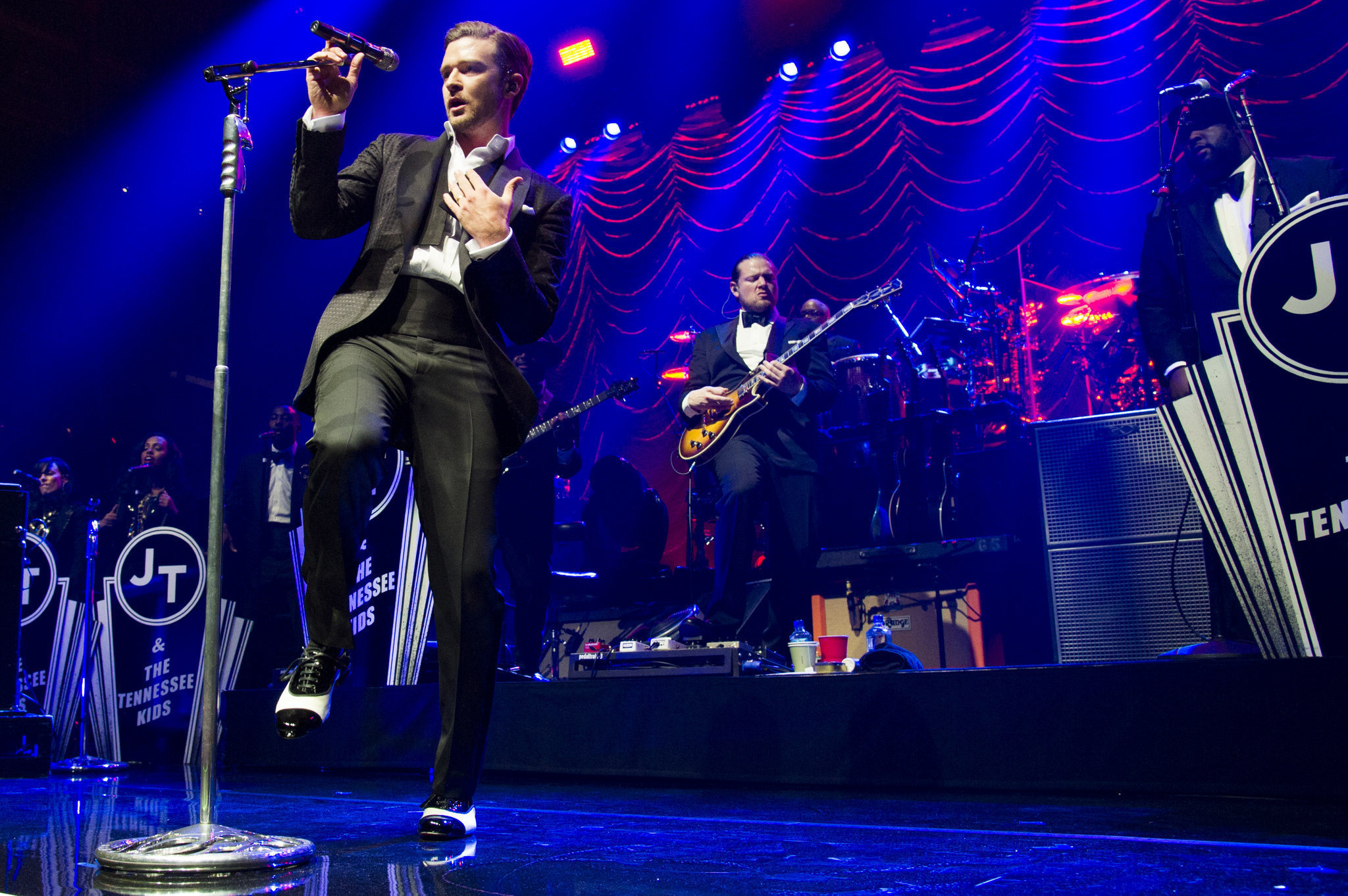 Justin Timberlake takes back the night in New York City Justin Timberlake Concert